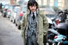 Kensuke Takehara #streetstyle #kensuketakehara photo by #stefanocoletti #thestreetfashion5xpro stefano coletti photographer