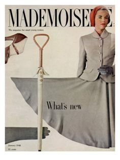 Mademoiselle Cover - January 1948