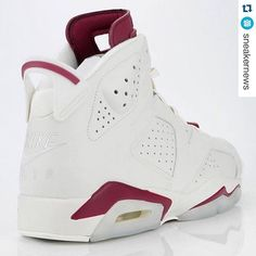 """#Repost Alert by @sneakernews ・・・ What's your thoughts on the Air Jordan 6 ""Maroon"" ? #fashionblogger #fashion #mj #michaeljordan #jordans #jordan6 #retro #sneakers #sneakersaddict #trainers #basketball #men #women #workout #fitness #shoeporn #uk #aroundtheworld #likes #likeback #lifestyle #like4like"" Photo taken by @millionaireshoppinggroup on Instagram, pinned via the InstaPin iOS App! http://www.instapinapp.com (11/11/2015)"