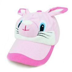 Bunny Ears Lovely Cartoon Outdoor Kids Baseball Caps Kids Baseball Caps, Baby Hats, Ears, Bunny, Cartoon, Outdoor, Outdoors, Cute Bunny, Ear