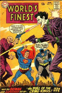 Superman Man of Steel Batman Dark Knight Lex Luthor Joker World's Finest DC Comics Superheroes Superhero