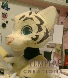 tiger fursuit Wip