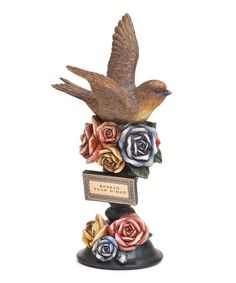 Take a look at this 'Spread Your Wings' Bird Figurine by DEMDACO on #zulily today!