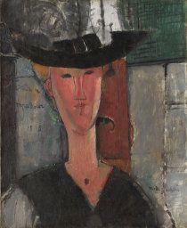 Amedeo Modigliani. Madam Pompadour, 1915. Joseph Winterbotham Collection, 1938.217.