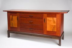 Padauk Buffet | Northwest Woodworkers' Gallery