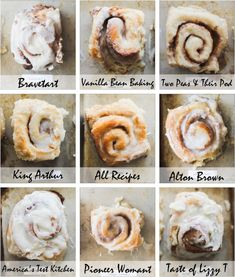 Best Cinnamon Roll Bake Off - The Pancake Princess Cinnamon Roll Icing, Cinnamon Roll Monkey Bread, Cinnamon Roll Waffles, Cinnamon Roll Casserole, Best Cinnamon Rolls, Cinnamon Roll Cookies, Breakfast Items, Breakfast Bake, Pastry Recipes
