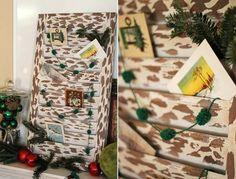 shutter christmas card holder