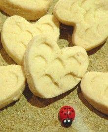 Shortbread Hearts - Orgran Dairy Free Baking, Gluten Free Flour, Sifted Flour, Shortbread, Hearts, Cooking, Desserts, Recipes, Food