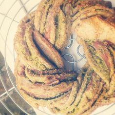 Pesto#prosciutto#spelt#wreath