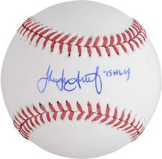 Jake Arrieta Chicago Cubs Fanatics Authentic Autographed Baseball with 2015 NL CY Inscription Corey Kluber, Chicago Cubs World Series, Cy Young, Autographed Baseballs, Philadelphia Phillies, Mlb, Hologram, Authenticity