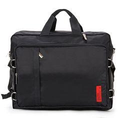 CRAZY BAG 3 Way Backpack -S. Korea College Bags for Men, Front 2 zip pockets ,3 Way Bag - Backpack, Messenger Bag, Tote Bag