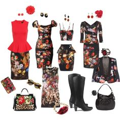 A fashion look from September 2012 featuring dolce gabbana dress, short floral dresses and flower printed dress. Browse and shop related looks. Fashion Looks, Sculpture, Floral, Polyvore, Animals, Clothes, Shopping, Dresses, Outfits
