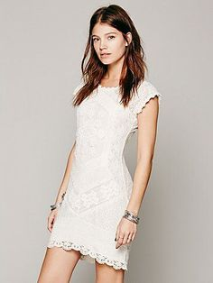 70d82a7849 Free People Beverly Crochet Dress Comfy Dresses