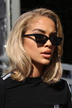 What Will Catch My Eye - American model Jasmine Sanders headshot during NYFW - accessories Jasmin Sanders, Hair Inspo, Hair Inspiration, Golden Barbie, Curly Hair Styles, Natural Hair Styles, Dream Hair, Hair Dos, New Hair