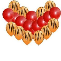 Easy Daniel Tiger Balloon Party Decorations