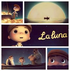 La Luna! (La Luna was a film short that aired before Brave in theaters.)