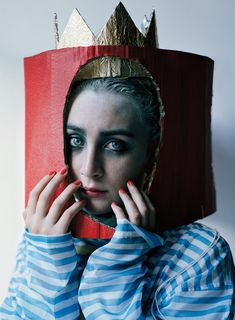 """Queen of Hearts"": Saoirse Ronan by Tim Walker for W Magazine November 2015"