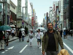 Barrio Ginza en Tokyo, Japon