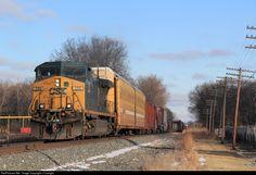 RailPictures.Net Photo: CSXT 286 CSX Transportation (CSXT) GE AC4400CW at Wayne, Michigan by J Curtright
