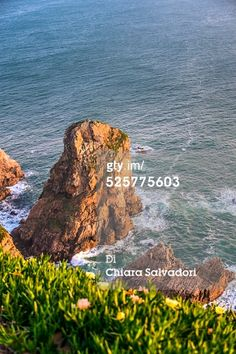 #CapeRoca, the extreme points of Europe. Sintra-Cascais Natural Park, #Portugal. Cabo da Roca (Cape Roca) is a cape which forms the westernmost extent of mainland Portugal and continental #Europe (and by definition the Eurasian land mass). The cape is in the Portuguese municipality of Sintra, west of the district of Lisbon, forming the westernmost extent of the Serra de #Sintra. #GettyImages #stock #photography
