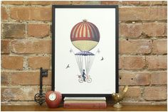 ride above it print. --c/o keep calm gallery