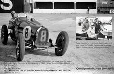 1931 Bugatti Type 51 Super Charged Grand Prix Two Seater (Tazio Nuvolari Driver-Monaco 1933) offered at Bonham's Grand Lodge Auction Carmel, CA  -