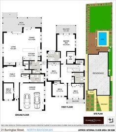 21 Burringbar Street, North Balgowlah NSW 2093 - House For Sale - 2012079806 Ground Floor, Deck, Floor Plans, Houses, Patio, How To Plan, Street, Homes, Terrace