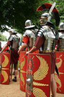 Roman army by Grzzz