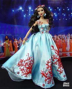 Miss Tahiti (dress Zuhair Murad )