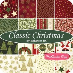 It's a Classic Christmas fabric!