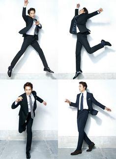 Ji Sung gets playful for Austin Reed #KillMeHealMe