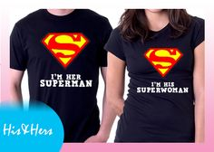>>SUPERMAN SUPERWOMAN Gift for boyfriend / girlfriend? our Couple shirts at our Introductory price! For inquiries & Customization, Message us on FB for further details. :) https://www.facebook.com/HisAndHersWear #coupleshirt #coupletee #Tshirt #Tee #Love #Customize #Mine #couple #girl #boy #girlfriend #boyfriend #heart #superman #superwoman