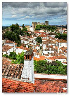 Casario de Óbidos  Portugal