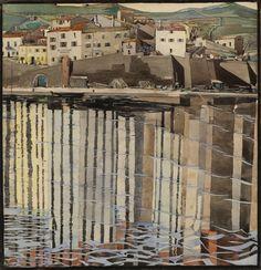 """La Rue du Soleil, Port Vendres"". Charles Rennie Mackintosh. c.1923. Image: Hunterian  #Mackintosh150"