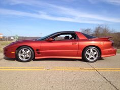 5d5ed900efe 2002 Trans Am WS.6 Sunset Orange Metallic 6-Speed
