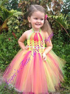 Woven Bodice Tutu Dress
