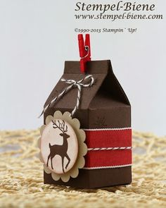 Stampin Up - Mini Milchkarton on Pinterest | 39 Pins