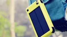 Charge your iPhone 9 times with this solar-powered battery