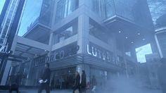LuthorCorp Plaza localed Downtown Metropolis Kansas ( Smallville )