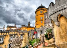 Palacio da Pena, Sintra, Portugal by szeke, via Flickr, Lisbon Region, Portugal