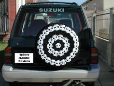 http://www.ravelry.com/patterns/library/wikked-wheels-skull-spare-tire-cover