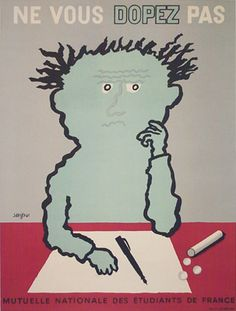 Ne vous dopez pas Raymond Savignac (1907-2002)
