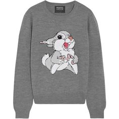 Markus Lupfer Thumper sequin-embellished merino wool sweater ($355) ❤ liked on Polyvore featuring tops, sweaters, blusas, grey, sequin, gray sweater, loose fitting tops, grey sequin top, grey sweater and cut loose tops
