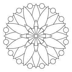 Tons of printable mandala designs free for download. Print these mandala coloring pages right from your browser. Mandala Drawing, Mandala Art, Stencil Patterns, Mosaic Patterns, Dot Painting, Mandala Pattern, Mandala Design, Pattern Art, Mandala Coloring Pages
