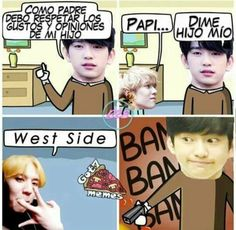 Read 44 from the story Memes de by Yumiko_Kun (Patatas fritas) with reads. Meme Got7, K Meme, Exo Memes, Funny Memes, All The Things Meme, Korean Bands, Bts And Exo, Kpop, Youngjae