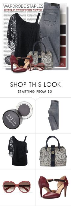 """""""Tried and True: Wardrobe Staples I"""" by breathing-style ❤ liked on Polyvore featuring Oris, Karen Millen, Chloé and Nine West"""