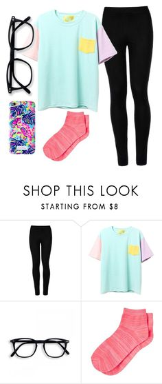 """""""Untitled #775 lazy night"""" by kigsmile22 ❤ liked on Polyvore featuring Wolford, Banana Republic and Lilly Pulitzer"""