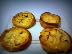 Tartaletas de manzana.