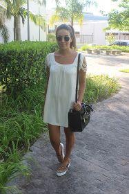 Blog da Nanda Pezzi: Look do dia: Vestido com tênis