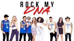 Rock My DNA || One Direction & Little Mix (Mashup Lyric Video)